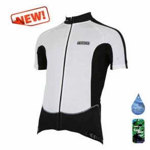 Bike-on JB-516 short sleeve track cycling jersey bicycle white