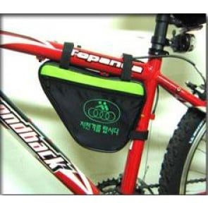 BICYCLE HERO BIKE FRONT FRAME PIPE BAG TRIANGLE VELCRO