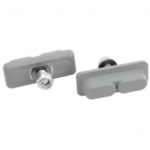 Koolstop Continental Box-25 Pair Silver