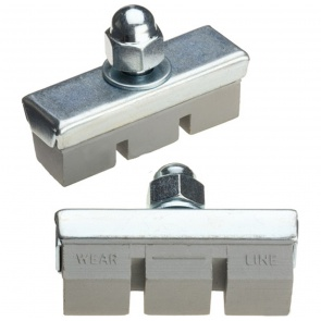 DiaCompe Gray Matter Bulk Caliper Brake Pads Box of 50