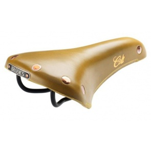 BROOKS colt enamel bicycle leather seat saddle mustard