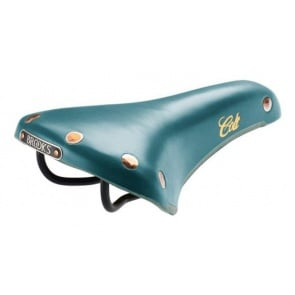 BROOKS colt enamel bicycle leather seat saddle Turquoise