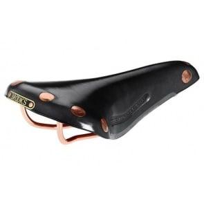 BROOKS team pro copper bicycle saddle seat leather black
