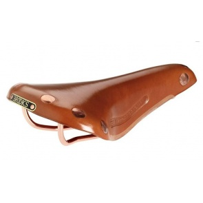 BROOKS team pro copper bicycle saddle seat leather honey