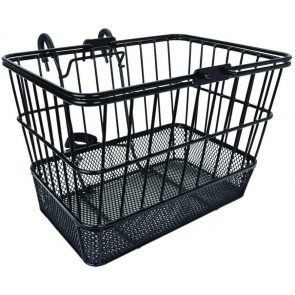 ALTAIR WIRE LIFT OFF HEAVY DUTY MESH BLACK BASKET