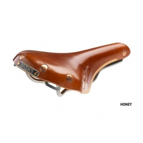 Brooks Swift Titanium Bicycle Seat Saddle
