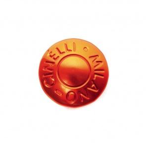 Cinelli Milano Anodized Handlebar Plugs - Orange