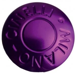 Cinelli Milano Anodized Handlebar Plugs - Purple