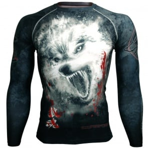 Btoperform Wolf Spirit FX-110 Compression Top MMA Jersey Shirts