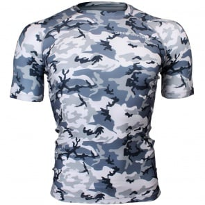 Btoperform Camo Urban Full Graphic Compression Short Sleeves Shirts FX-311
