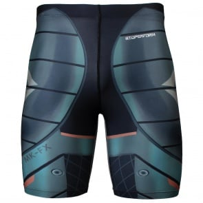 Btoperform Space Armour Full Graphic Compression Shorts FY-305