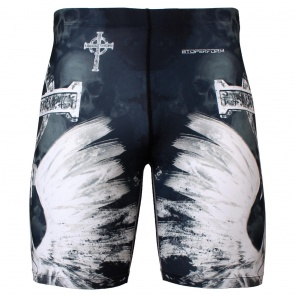 Btoperform God of Death Full Graphic Compression Shorts FY-318