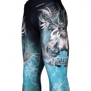 Btoperform Athena FY-104 Compression Leggings Bottom MMA Tights Yoga