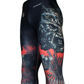 COUP D'ETAT [FY-108] Full graphic compression leggings