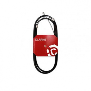 CLARKS 6086 STAINLESS STEEL BRAKE CABLE BLACK