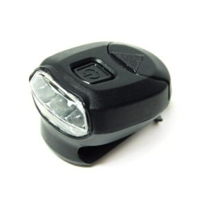 BicycleHero Cap Light 3 LED Super Bright Black