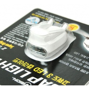 BicycleHero Cap Light 3 LED Super Bright White