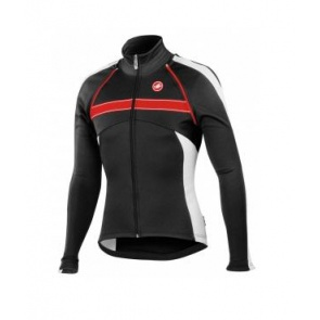 Castelli Pazzo Jacket Winter bicycle cycling black white
