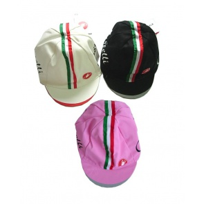 Castelli Retro Cycling Cap Cotton 3 Colors Free Size