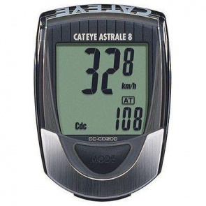 Cateye Astrale 8 CC-CD200 Wired Cadence Cycling Computer