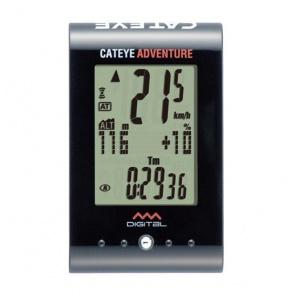 [Bicycle Hero]Cateye(キャットアイ) CC-AT200W Adventure(アドベンチャー) 無線サイクリングコンピュータレベルの高度