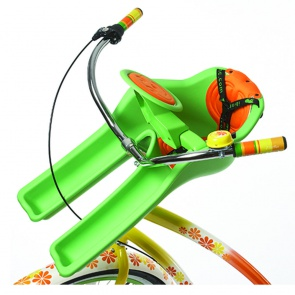 IBERT SAFE-T SEAT w/ STEERING WHEEL 38lb MAX WEIGHT GREEN