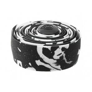 Cinelli Cork Macro Splash Handlebar Tape - Black- White