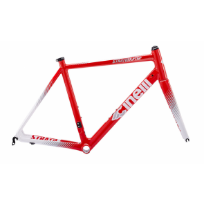 Cinelli Strato Faster Frameset - New Red