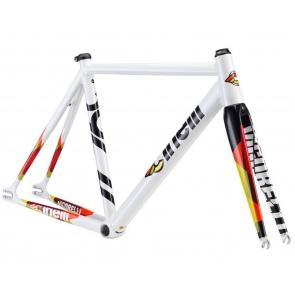 Cinelli Vigorelli Alum Track Frame Set White