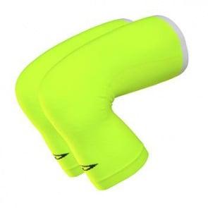 Defeet Kneeker Coolmax Yellow Leg Warmers One Size