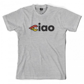 CINELLI CIAO T-SHIRT GREY