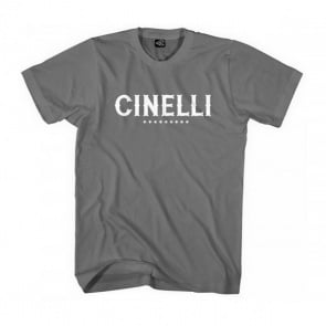 Cinelli T-Shirt Crew Neck Printed