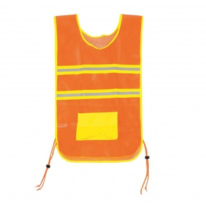 Aardvark Deluxe Reflective Vest Orange