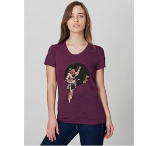 CLOCKWORK GEARS SO LONG WOMENS PURPLE LG