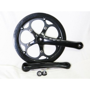Dahon Repair Part Black Crankset Fit 2009 Speed P8, Jet P8