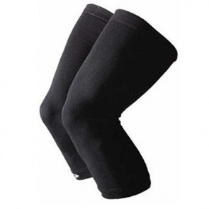 Defeet Kneeker Coolmax Black Leg Warmers One Size