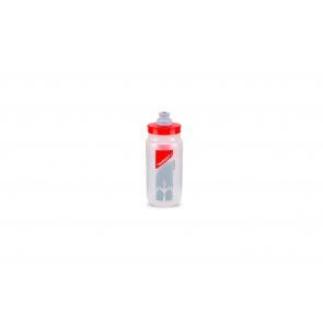 Wilier Elite Water Bottle Fly 550ml 2019 Clear Red