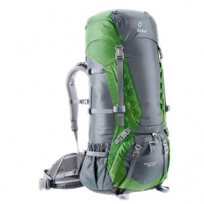 Deuter Aircontact 65L +10 Back Pack 2012 granite emerald