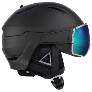 Salomon Driver Plus Helmet Black Silver Solar