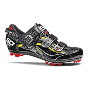 Sidi Eagle6 Carbon SRS cycling shoes black yellow vernice