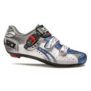 Sidi Eagle5 Fit MTB cycling shoes Steel White Blue