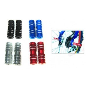 BICYCLE HERO BIKE CYCLING BMX FOOT PEGS PEDALS SIZE 3/8""