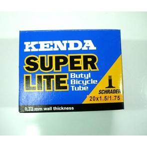 [Bicycle Hero]Kenda(ケンダ) 自転車Inner Tube(インナーチューブ) 20x1.5~1.75 Schrader(シュレーダー)