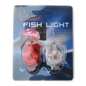 Valiente Fish Light White LED, Red LED set Bicycle Rear Lamp