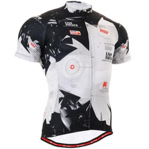 Fixgear Bicycle Cycling Mens Jersey Short Sleeves CS1702