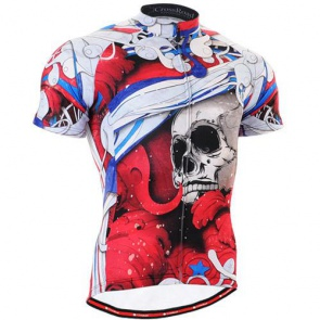 Fixgear Bicycle Cycling Mens Jersey Short Sleeves CS19R2