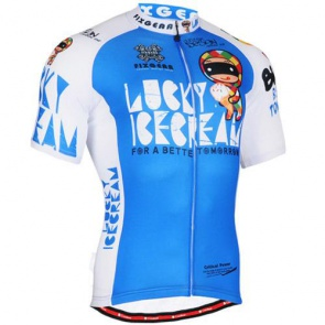Fixgear Bicycle Cycling Mens Jersey Short Sleeves CS31B2