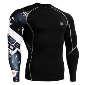 Fixgear Compression BaseLayer Skin Tight Shirt CP-b17