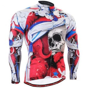 Fixgear Mens Bicycle Jersey Cycling Long Sleeves CS19R1