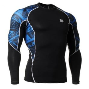 Fixgear Printed BaseLayer Compression Skin Top Tights C2L-B1-UG